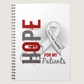 Hope For My Patients Lung Cancer Notebook