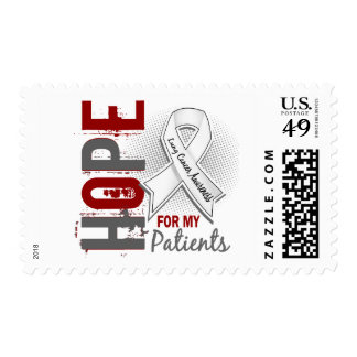 Hope For My Patients Lung Cancer Postage