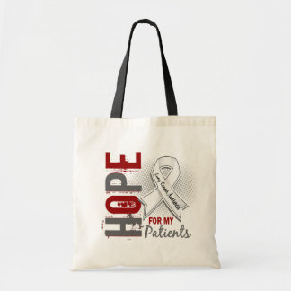 Hope For My Patients Lung Cancer Tote Bag