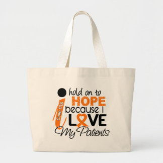 Hope For My Patients Multiple Sclerosis MS Canvas Bag