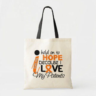 Hope For My Patients Multiple Sclerosis MS Tote Bags