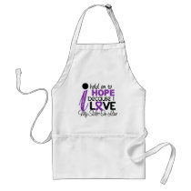 Hope For My Sister-In-Law Cystic Fibrosis Adult Apron