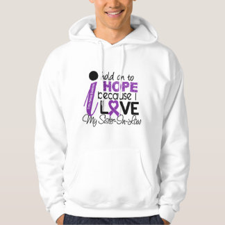 Hope For My Sister-In-Law Cystic Fibrosis Hoodie