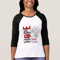 Hope For My Sister Lung Cancer T-Shirt
