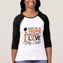 Hope For My Sister Multiple Sclerosis MS T-Shirt