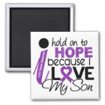 Hope For My Son Cystic Fibrosis Magnet