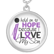 Hope For My Son Cystic Fibrosis Silver Plated Necklace