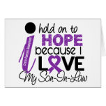 Hope For My Son-In-Law Cystic Fibrosis Greeting Cards