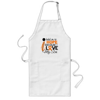 Hope For My Son Leukemia Long Apron
