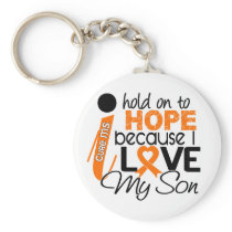 Hope For My Son Multiple Sclerosis MS Keychain