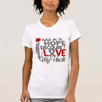 Hope For My Uncle Brain Tumor T-Shirt