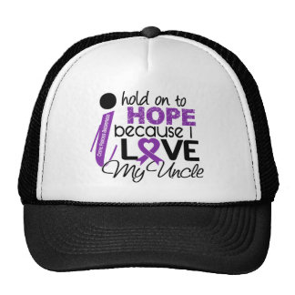 Hope For My Uncle Cystic Fibrosis Mesh Hats