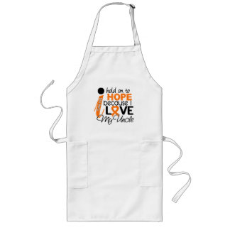 Hope For My Uncle MS Multiple Sclerosis Long Apron