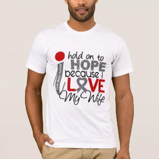 Hope For My Wife Brain Tumor T-Shirt
