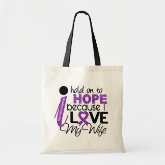 Hope For My Wife Cystic Fibrosis Canvas Bag