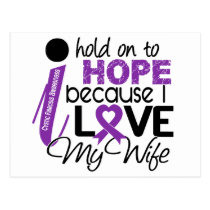 Hope For My Wife Cystic Fibrosis Postcard