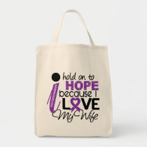 Hope For My Wife Cystic Fibrosis Tote Bag