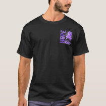 Hope For My Wife Hodgkins Lymphoma T-Shirt