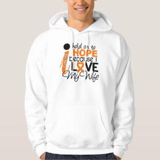 Hope For My Wife Multiple Sclerosis MS Hoodie