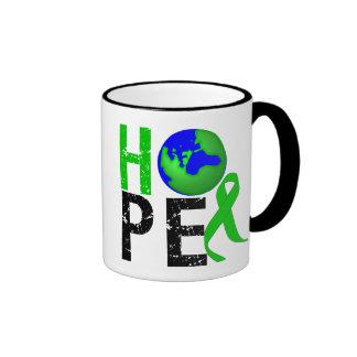 Hope for The Environment Ringer Mug