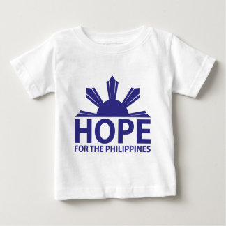 Hope For The Philippines Baby T-Shirt