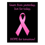 Hope For Tomorrow Cancer Awareness Postcard
