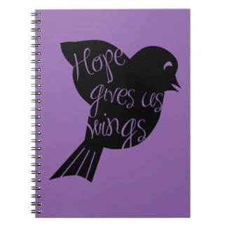 Hope Gives Us Wings 2 Notebook