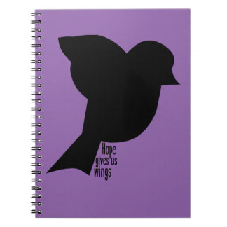 Hope Gives Us Wings Notebook