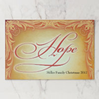 HOPE Golden Placemat
