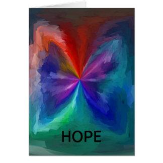 Hope Greeting Card/Tough Times Card