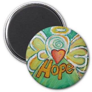 Hope Guardian Angel Word Custom Magnet