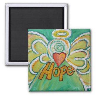 Hope Guardian Angel Word Custom Magnets