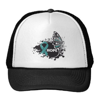 Hope Gynecologic Cancer Butterfly Trucker Hat