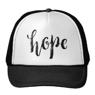 Hope - Hand Lettering Typography Design Trucker Hat