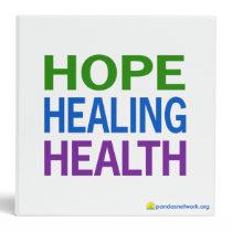 Hope, Healing, and Health Binder