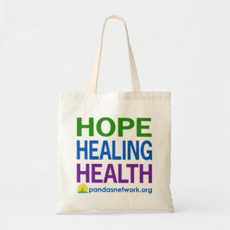 Hope, Healing, Health Bag-Full Color Tote Bag