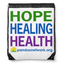 Hope, Healing, Health Drawstring Bag-Full Color Drawstring Bag