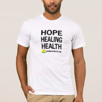 Hope, Healing, Health Men's T-shirt