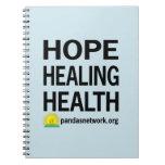 Hope, Healing, Health Notebook
