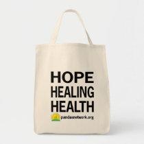 Hope, Healing, Health Tote Bag