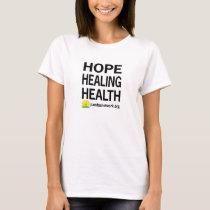 Hope Healing Health Women's T-Shirt