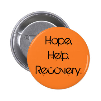 Hope. Help. Recovery. Pin