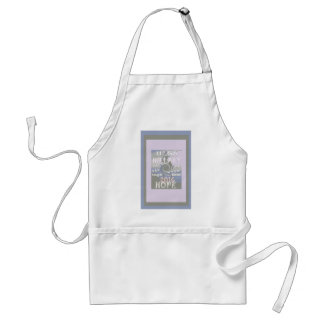 Hope  Hillary USA We Are Stronger Together Adult Apron
