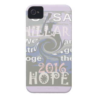 Hope  Hillary USA We Are Stronger Together iPhone 4 Cover