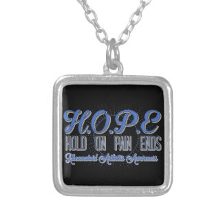 HOPE Hold On Pain Ends Necklace Arthritis Custom Jewelry