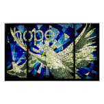 Hope Holy Spirit Dove Christian Art Poster