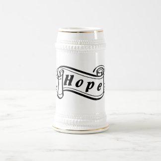 Hope - hope Fantasy kind - kind Deco Beer Stein