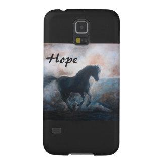 Hope Horse in the Haze Samsung Galaxy S5 Case