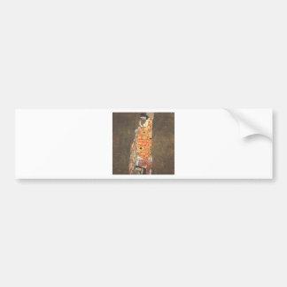 Hope II by Gustav Klimt Bumper Sticker