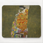Hope II by Gustav Klimt Mouse Pad